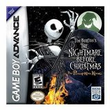 Tim Burton's The Nightmare Before Christmas: The Pumpkin King (Game Boy Advance)